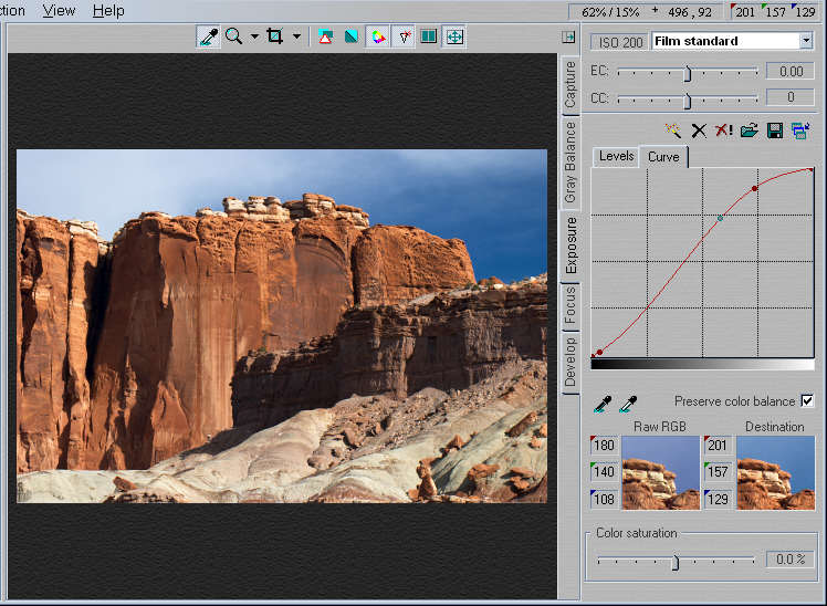 Tonal quality and dynamic range in digital cameras