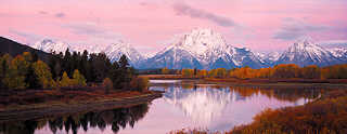 Oxbow Bend sunrise 3, Tetons, Oct. 2002