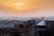 Jodhpur fort sunset; India 2004