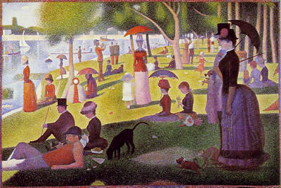 George Seurat: Sunday Afternoon at the Grande Jatte